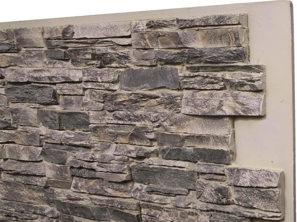 norwich colorado stacked stone tall panel  dining room