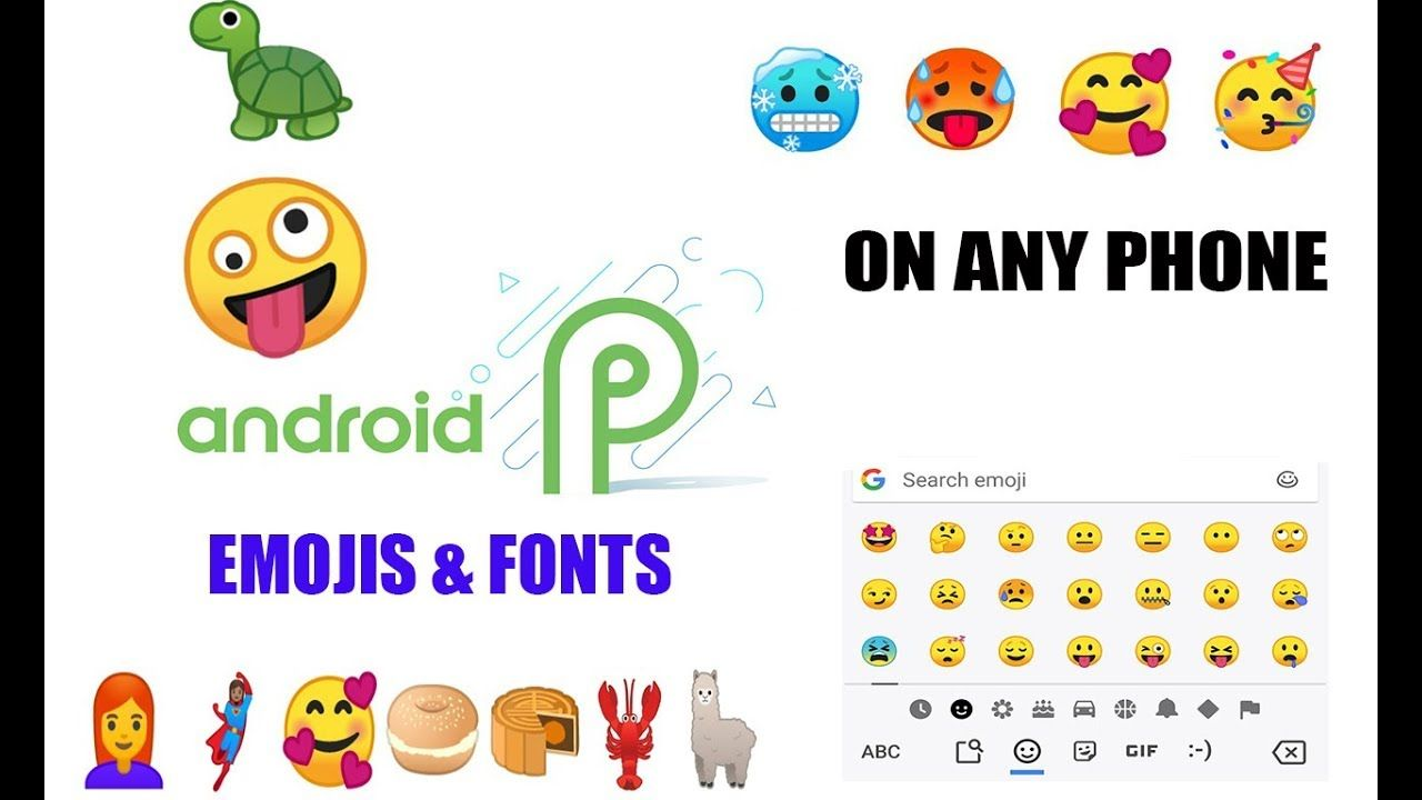 How To Get Iphone Emojis For Android Root No Root 2019 Ios Emoji Android Emoji Iphone