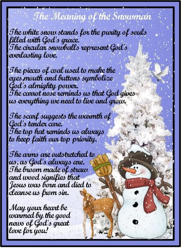 Legend of the Snowman Poem | ... .com • View topic - Poem: Meaning ...