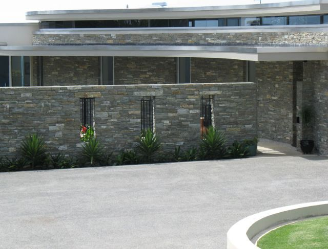 Garden boundary wall bardas Pinterest Walls Curb appeal and