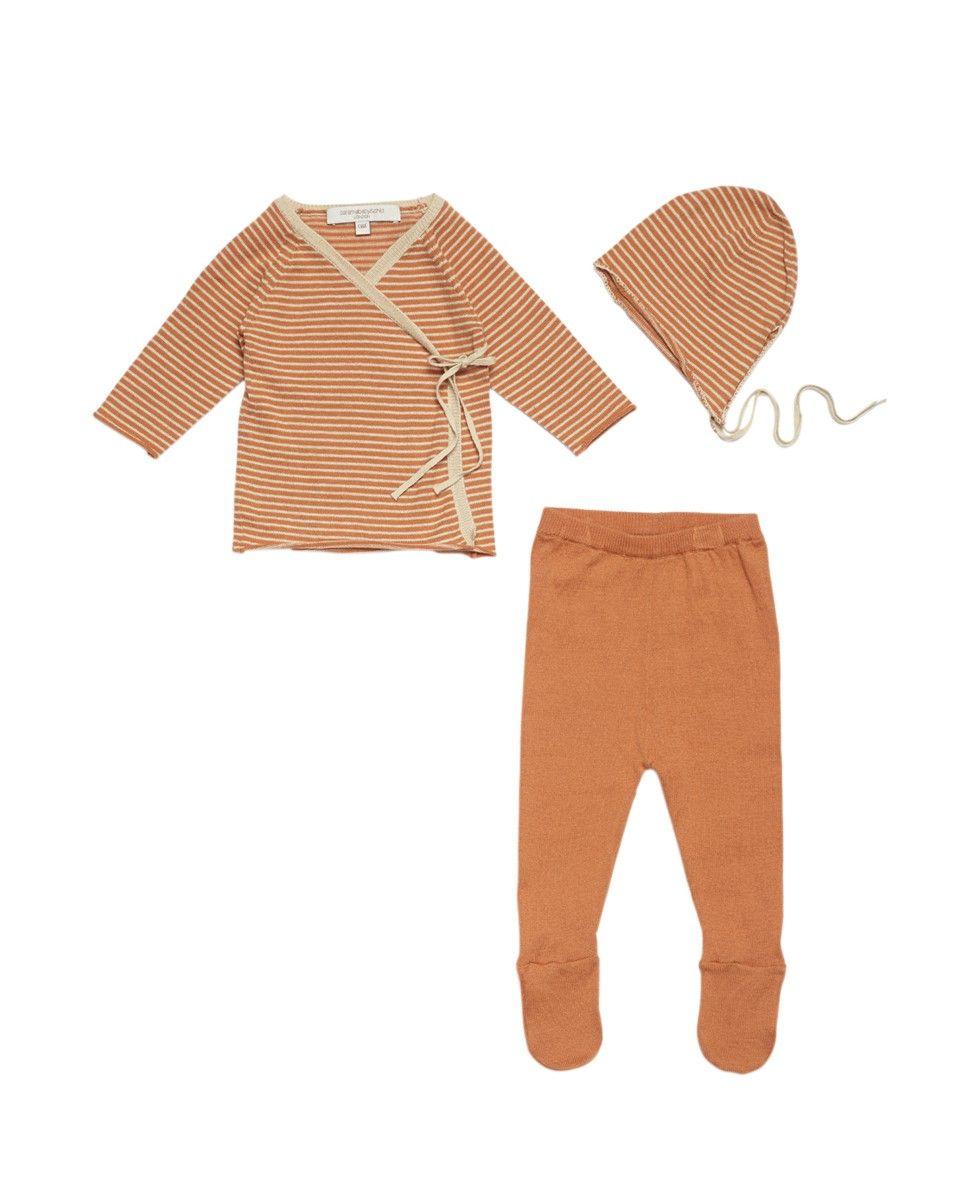 Canary Gift Set, Orange Sunset / Off White Stripe, ANY