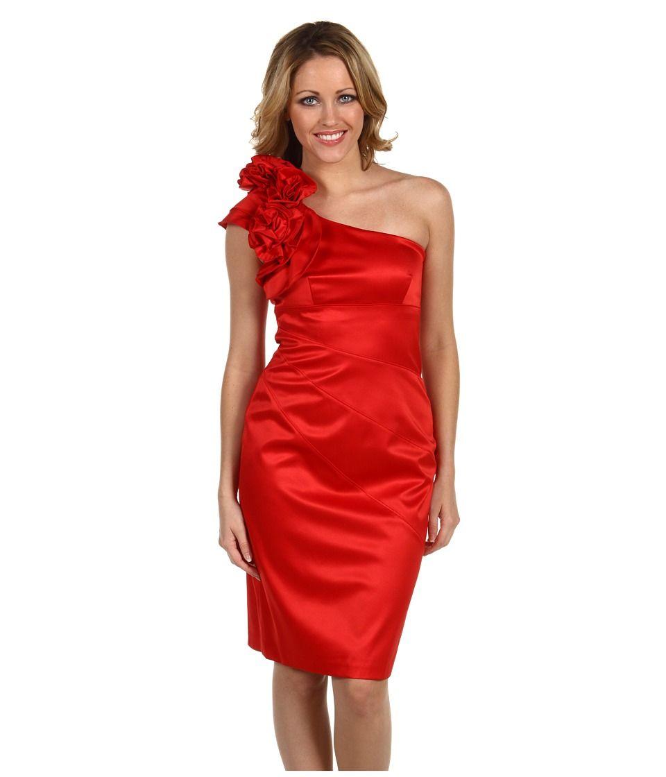 Fantastisch Red Urlaub Kleid Cocktail Galerie - Brautkleider Ideen ...