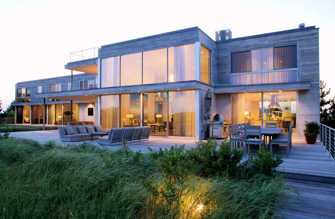 Flying Point Residence in Southampton, NY by Stelle Architects ...