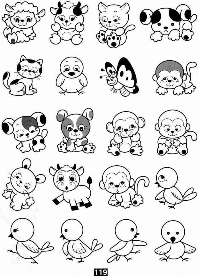 Pin de Ana Cláudia en Desenhar | Pinterest | Animales para imprimir ...