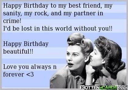Happy Birthday Best Friend Happy Birthday Quotes For Friends Friend Birthday Quotes Happy Birthday Bff