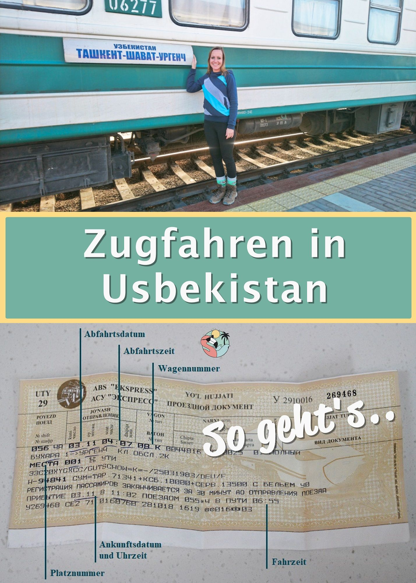 Zug Fahren In Usbekistan Alles Was Du Wissen Musst Zug Fahren