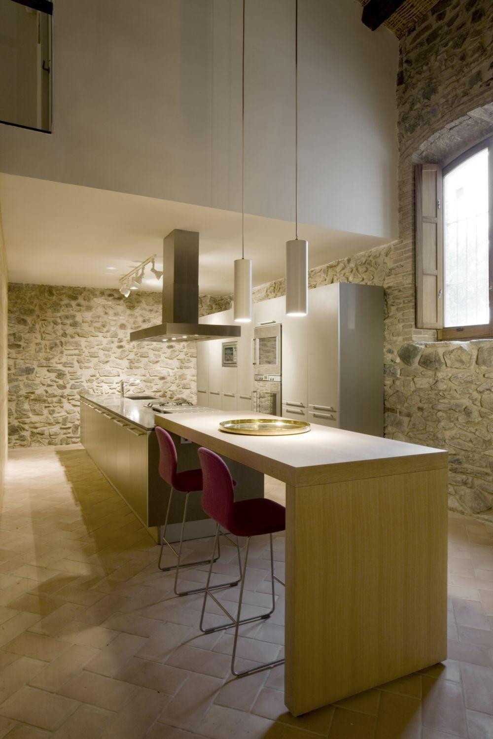 Vivienda-bodega-priorato70.jpg | cocinas | Pinterest | Barras de ...