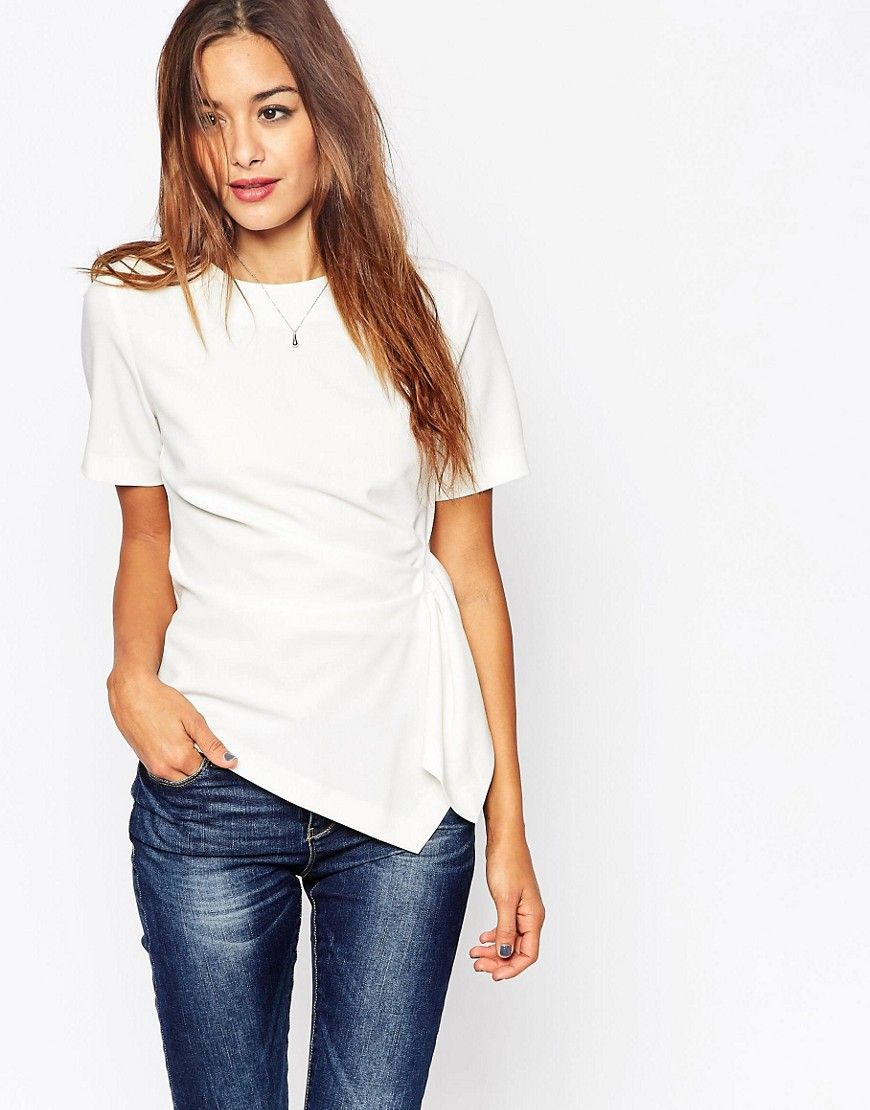1aa6c560a5a Image 1 of ASOS Origami T-Shirt In Crepe | shopping | Origami, ASOS ...