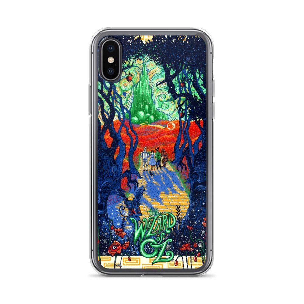 Trippy Wizard Of Oz Custom iPhone X Case, iPhone XS