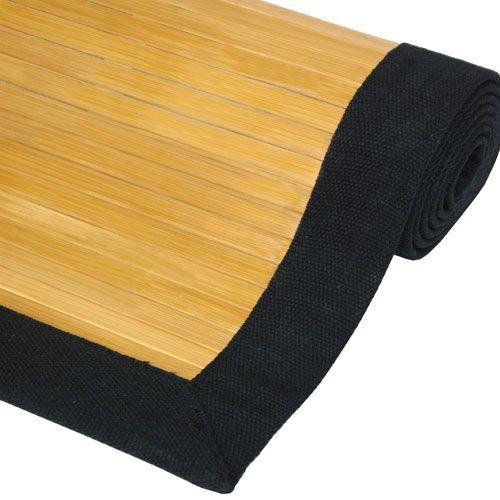 Bamboo Rug - Natural - 2 x 3