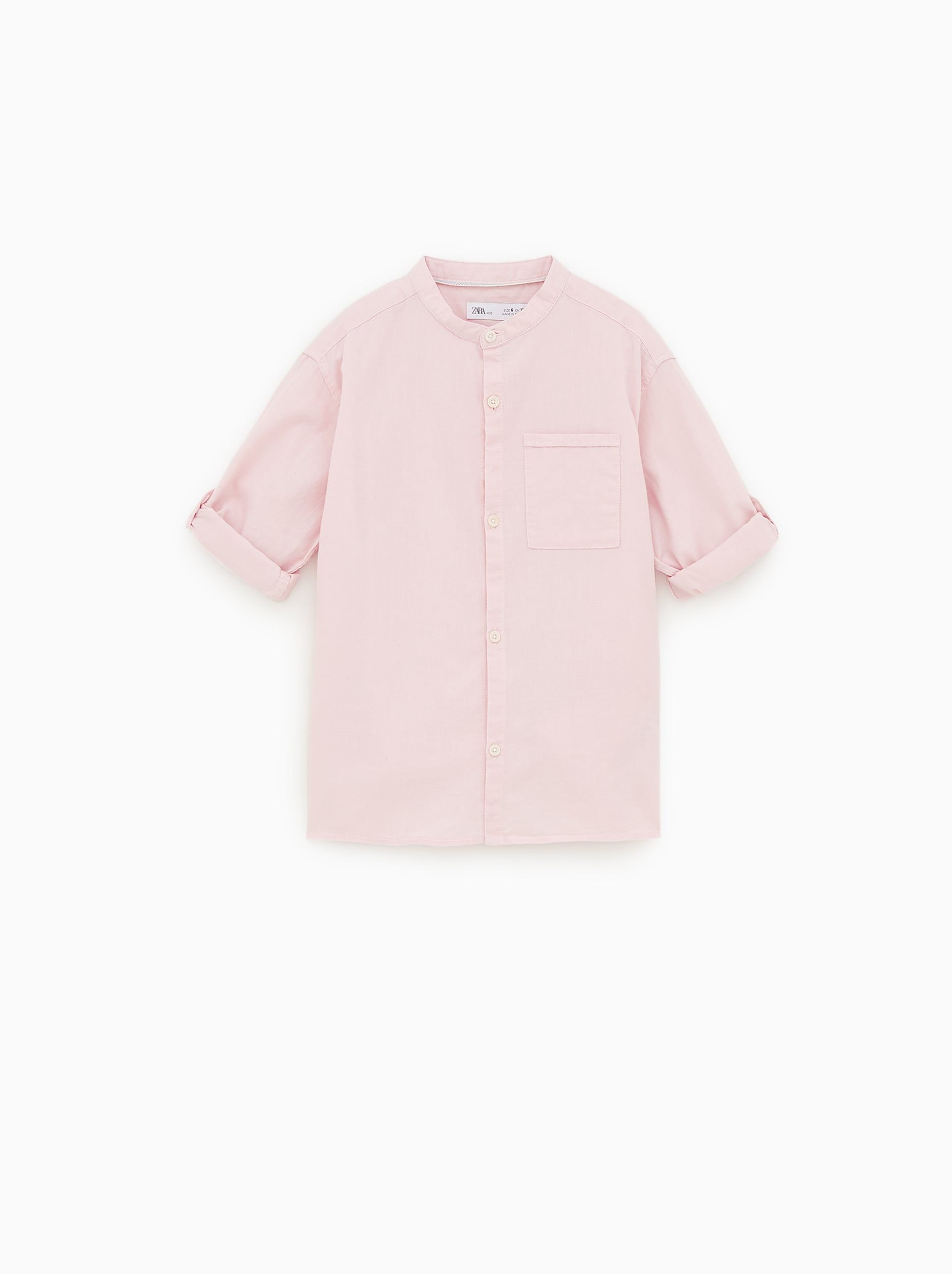 3244d06975d TEXTURED SHIRT WITH POCKET - Item available in more colors