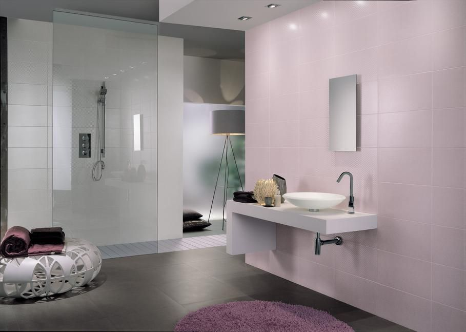 Pink bathroom decoration guide 2017 bathroom decor pinterest for Accessoire salle de bain rose et gris