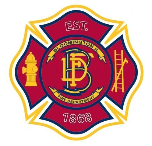 City Of Bloomington Illinois Fire Fire Service Ems Patch Police Patches