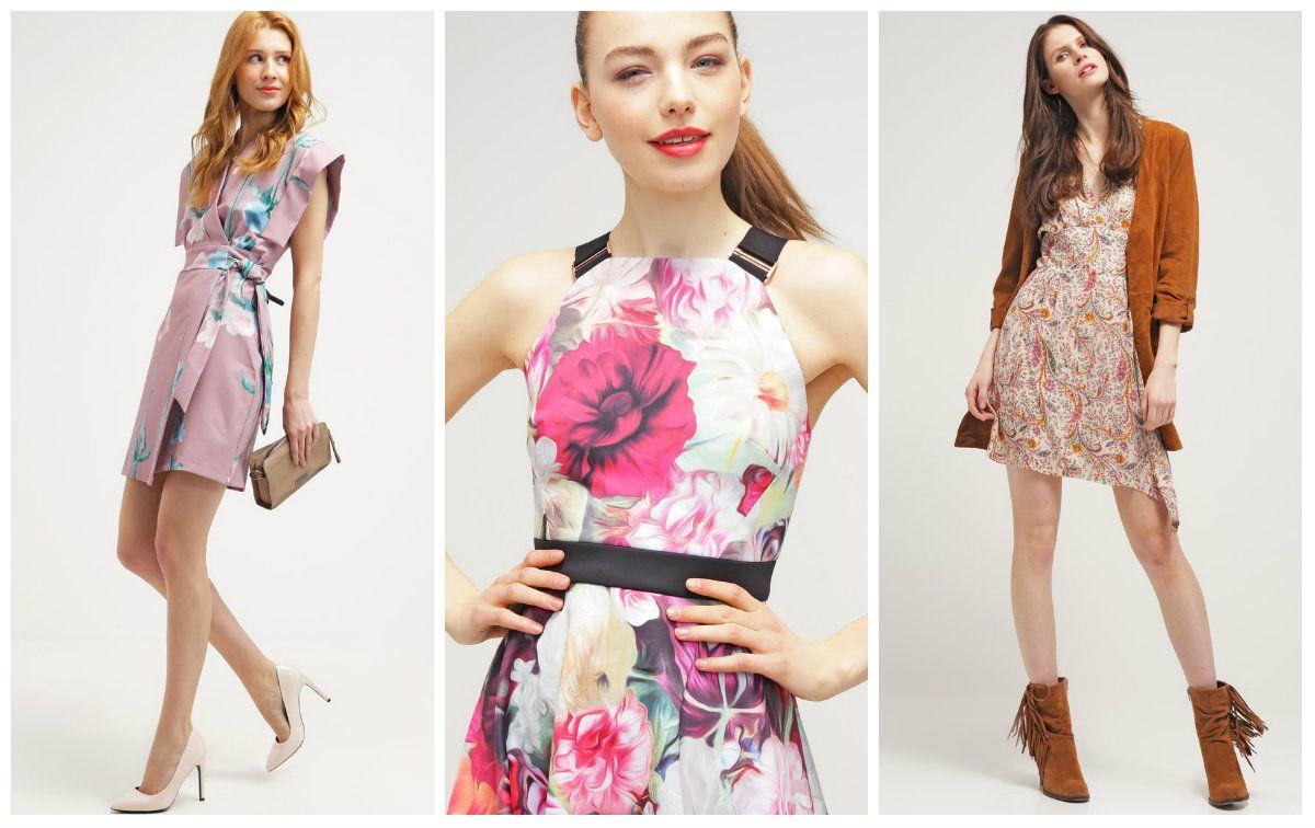 Material W Kwiaty Na Sukienke Szukaj W Google Fashion Halter Dress Dresses