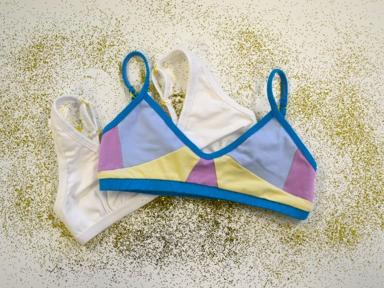 Yellowberry first bras for girls strike a balance between pretty and  appropriate -- Cool Mom Picks.Com  yellowberry 8d35faf98