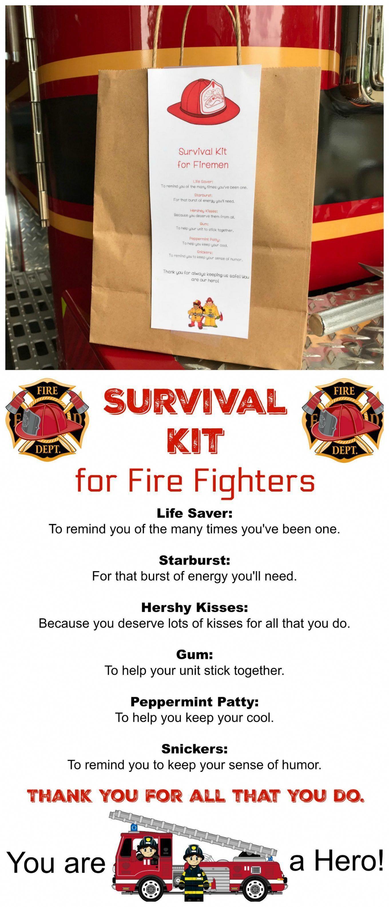 Survival Kit For Fire Fighters Diysurvival