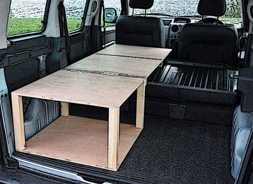 189 citroen berlingo peugeot partner camper van conversion module camper conversions. Black Bedroom Furniture Sets. Home Design Ideas