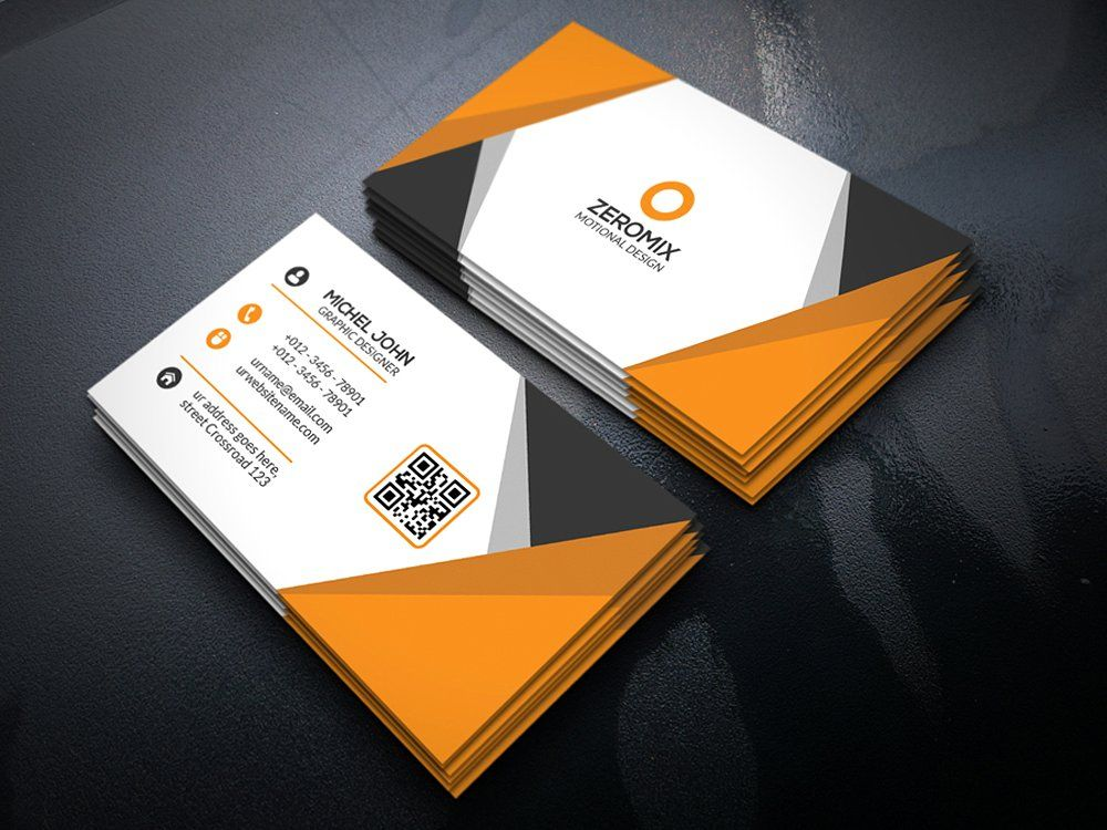 Orange corporate business cardbusiness card templates download orange corporate business cardbusiness card templates download cheaphphosting Image collections