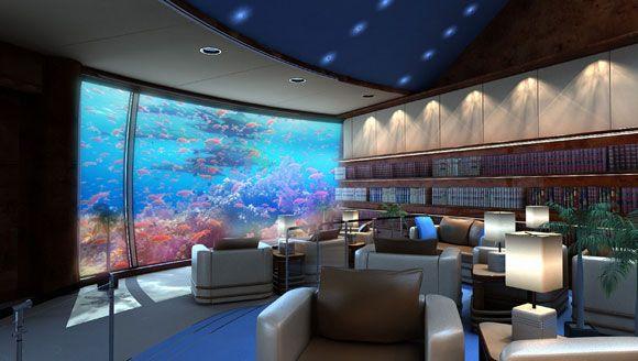Underwater luxury a deep sea experience underwater for Dubai hotels 7 star rooms