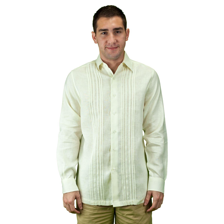 Beach wedding shirt in ivory shirts cuban shirts mens