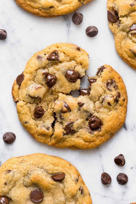 30-minute Bakery Style Chocolate Chip Cookies! #cookies # ...
