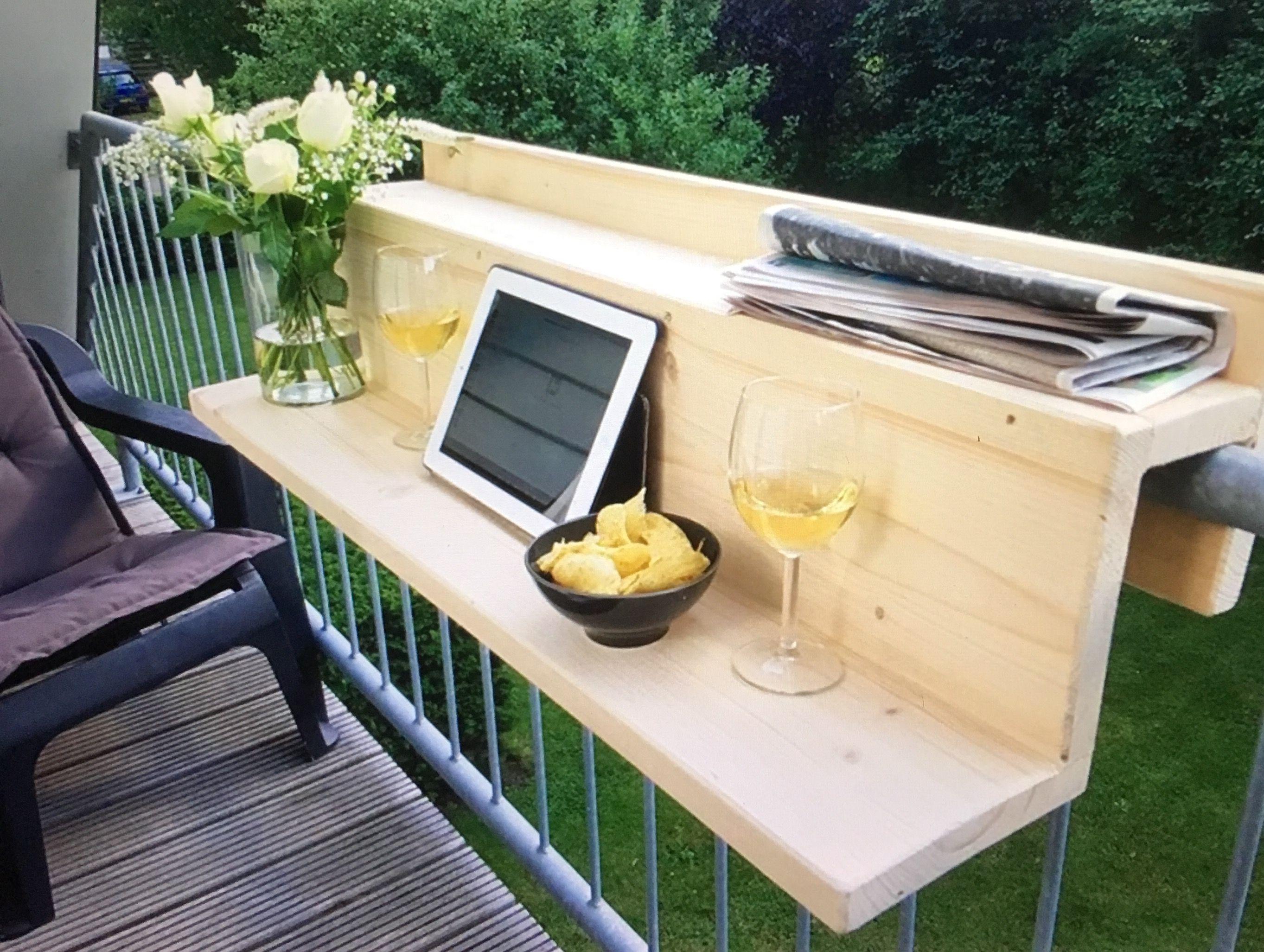 Houten Balkon Meubels : Houten balkontafel houten pallets 가구 아이디어 en 가구