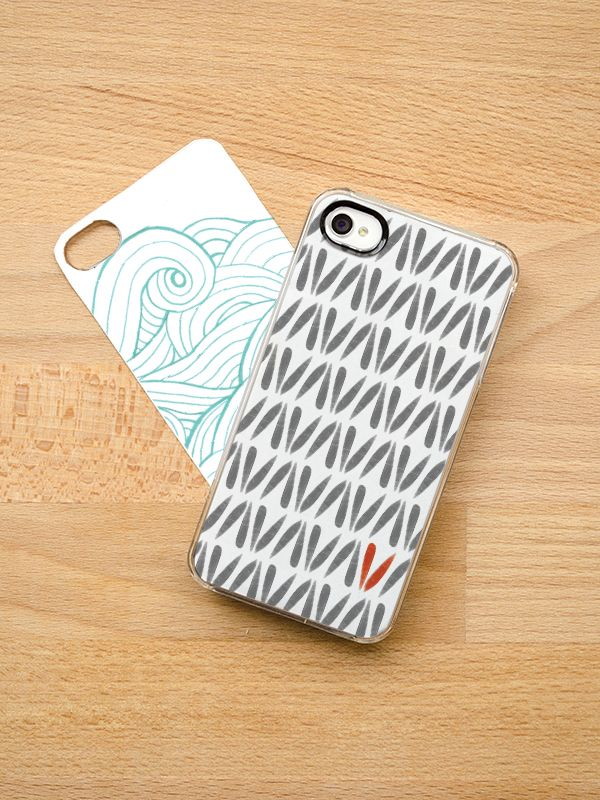 see that there  iphone templates for clear iphone cases