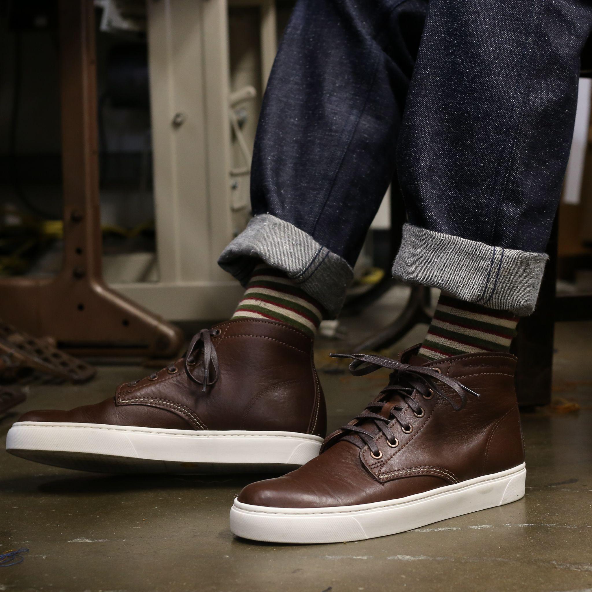 Wolverine Sneaker | Sneakers, Horween