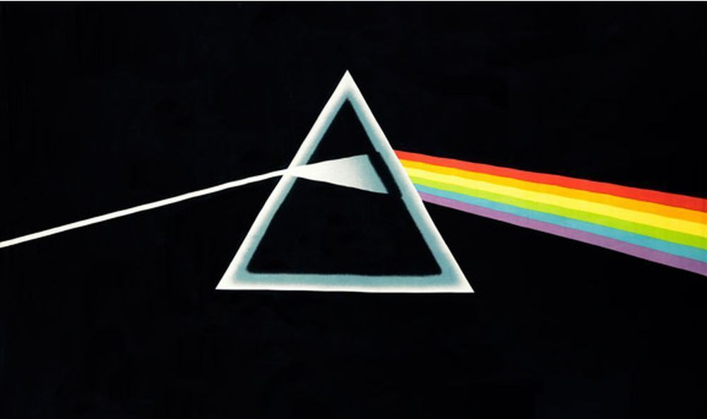 "FREE SHIPPING Pink Floyd 3D Tapestry /""Dark Side/"" 30 x 45"