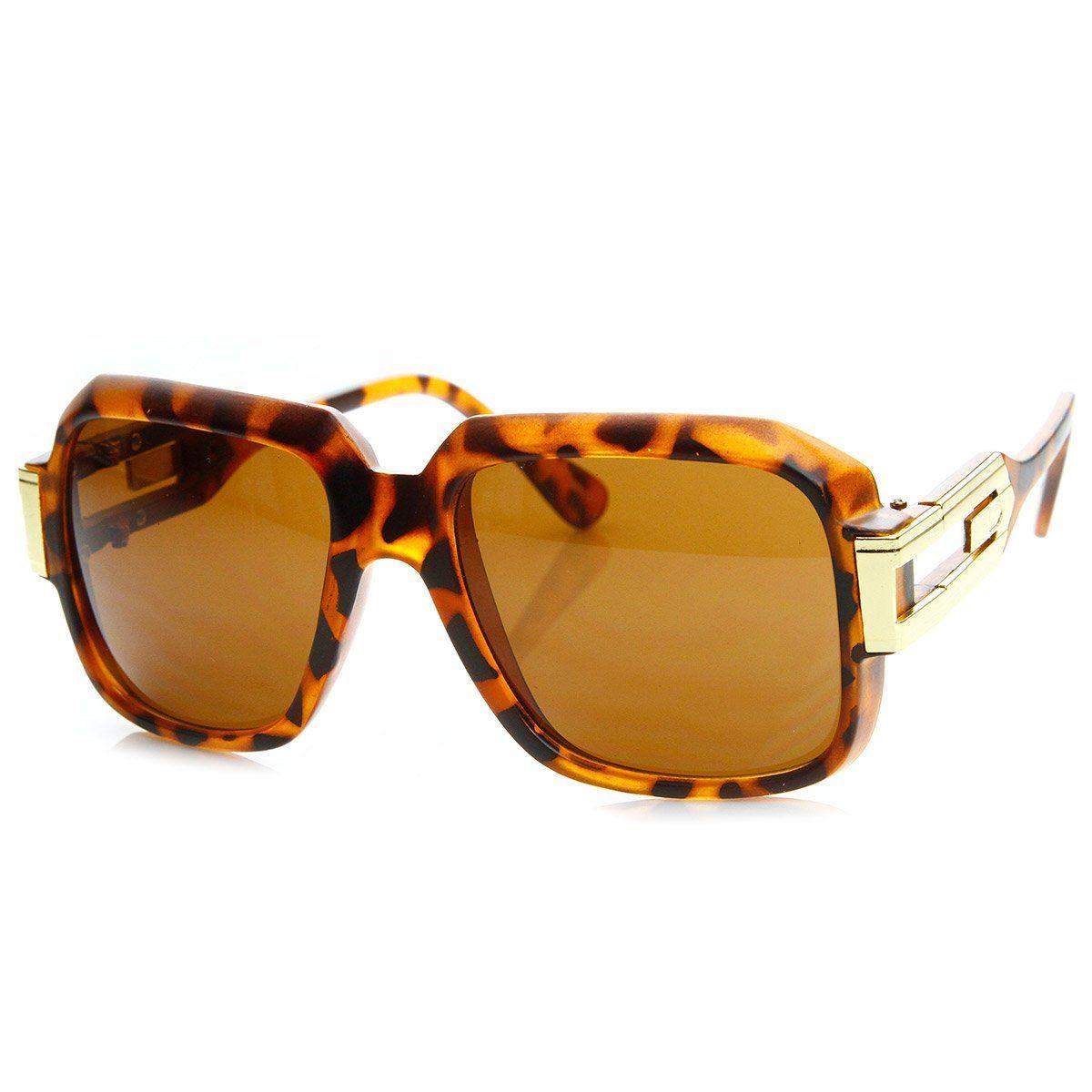 9b438950e0c8 Large Classic Retro Square Frame Hip Hop Hip-Hop Sunglasses ...