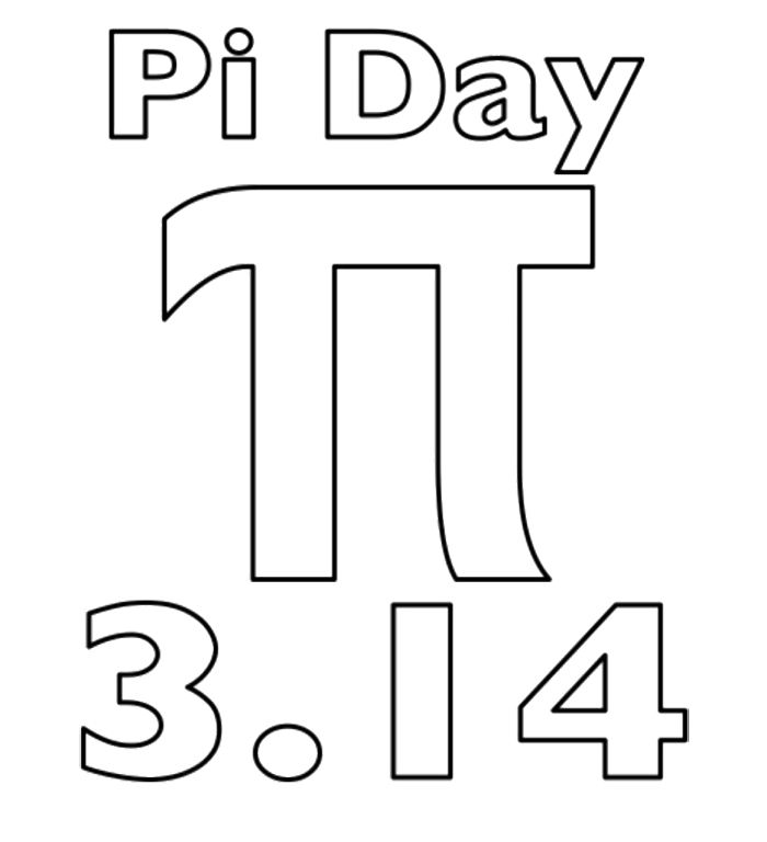 Printable Pi Day Coloring Page For Kids Pi Day Coloring Pages Pi Day Facts