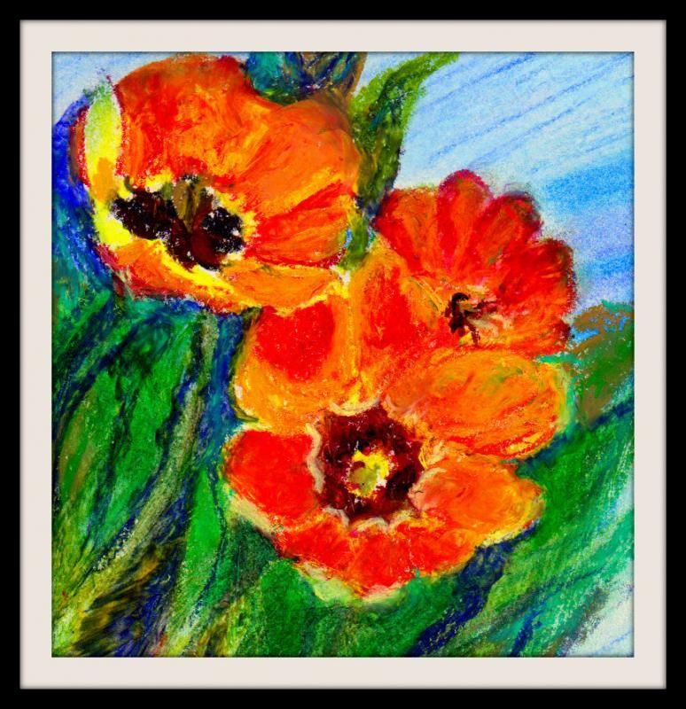 oil pastel tutorial - חיפוש ב-Google | oil pastels | Pinterest ...