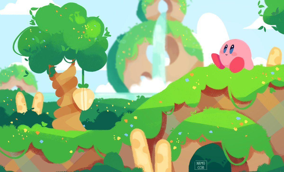 Kirby Star Allies Fan Art Play Nintendo Kirby Fan Art Art