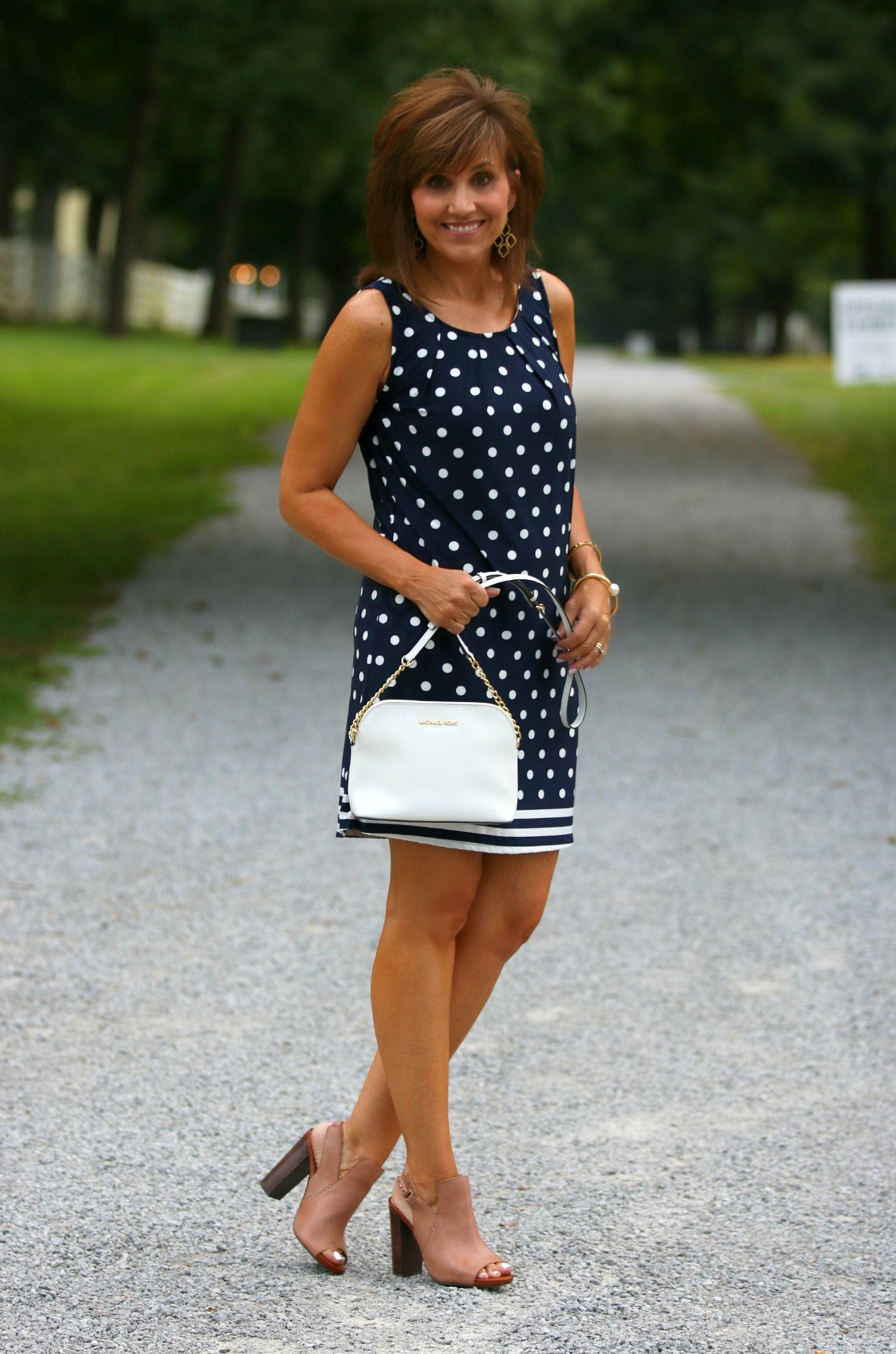 Polka Dot Dress-Summer Fashion | SPRING STYLE | Summer ...