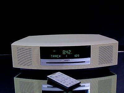 Bose Wave Music System AWRCC2 AM/FM Radio CD Player AUX Alarm Clock