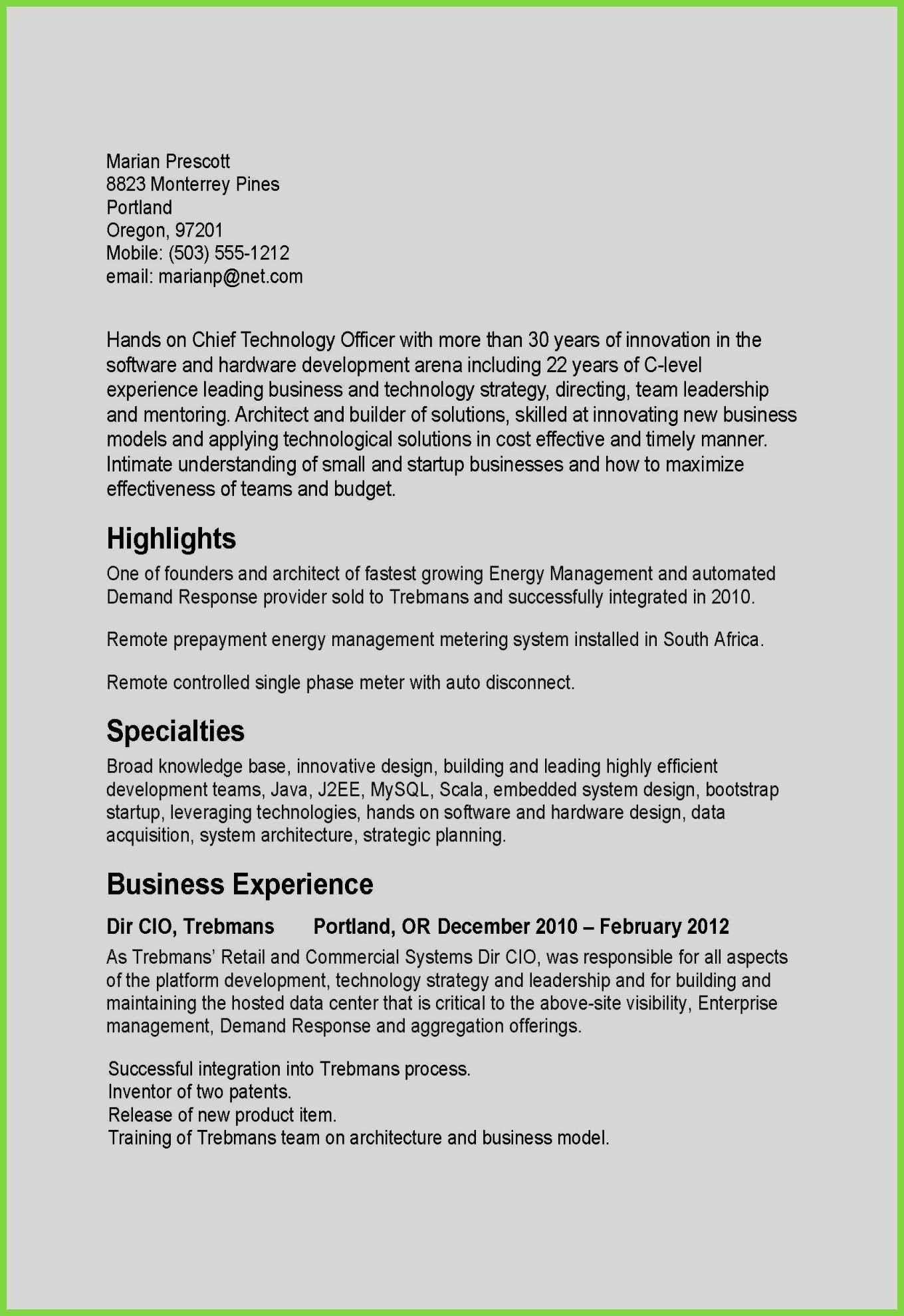 Small Business Owner Resume Sample Inspirational Elegant