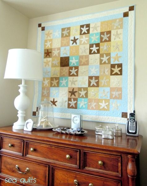 Coastal Quilts As Wall Hangings Quilted Wall Hangings Sea Quilt Nautical Quilt
