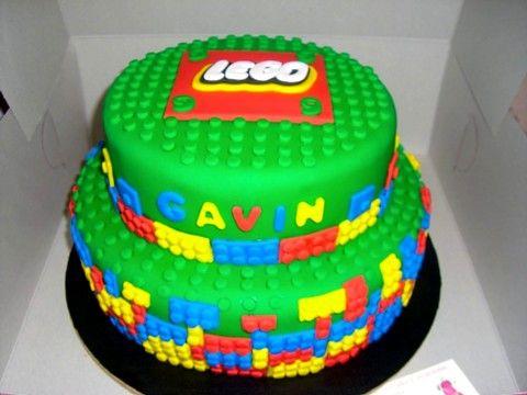 Peachy Lego Themed Birthday Cake Kinderparty Kinder Party Funny Birthday Cards Online Fluifree Goldxyz