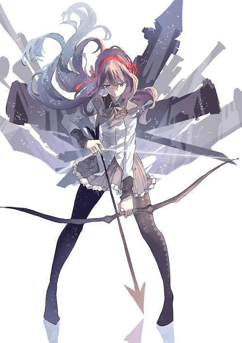Most popular tags for this image include: anime, archer, arrow and akemi homura