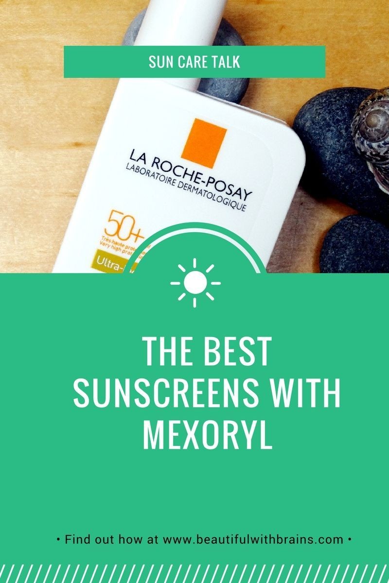 Mexoryl protects against UVA rays just as well as zinc oxide - minus the greasy feel and white cast. But it's so hard to find! Here are your best options: