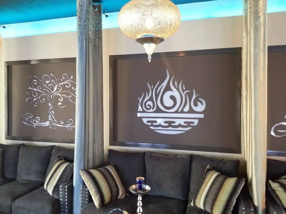 Comfy couches! | Take a look inside The Candy Bar Hookah Shoppe ...