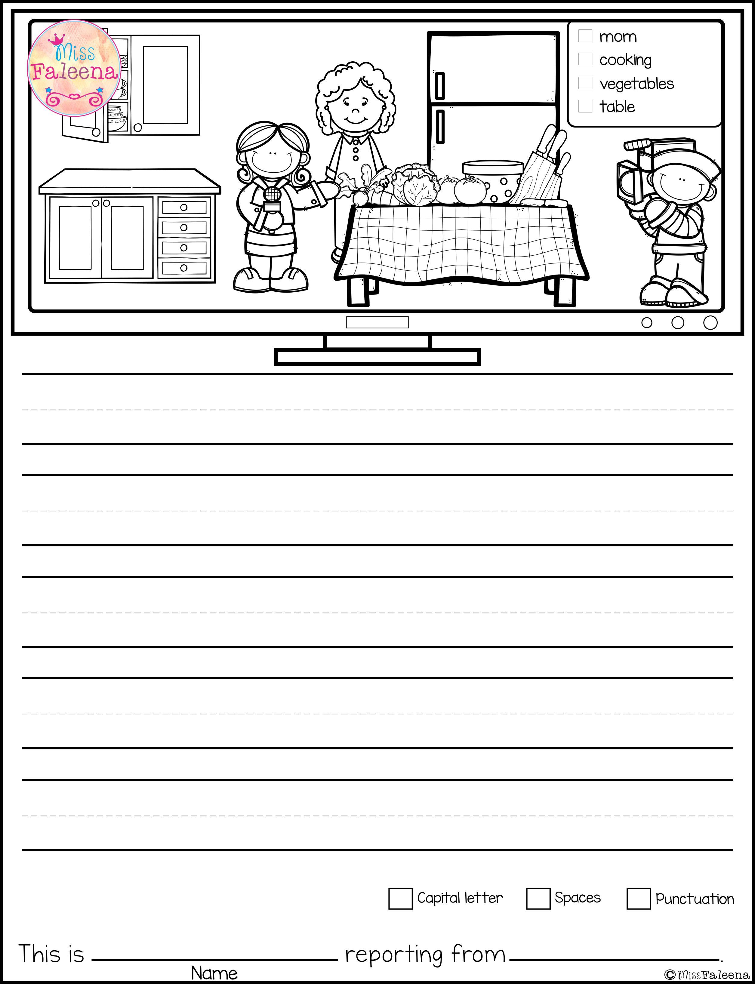 This Product Contains 30 Pages Of Picture Prompts Worksheets This Product Is Suitable For Kinder Picture Prompts Summer School Writing Picture Writing Prompts [ 3272 x 2510 Pixel ]