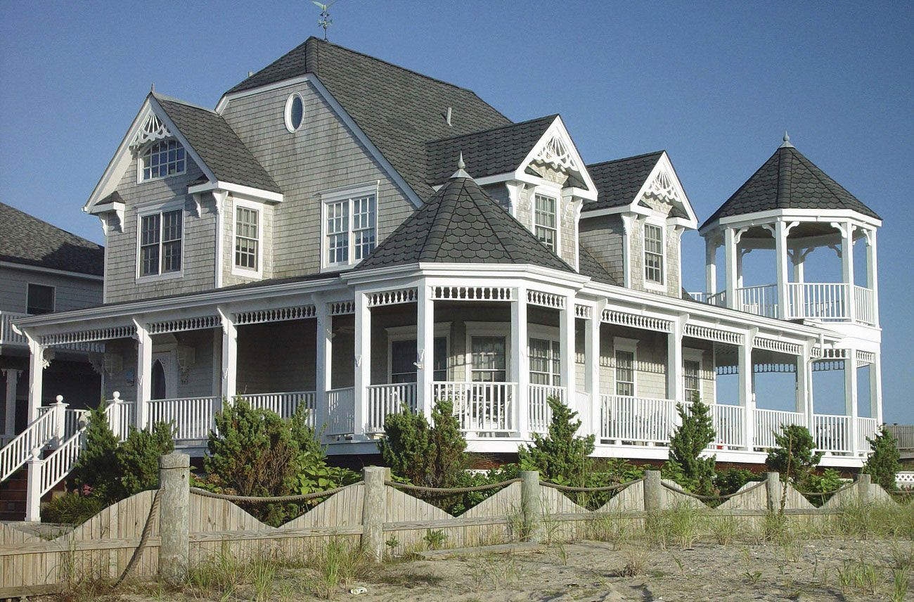 Stunning classic dream beach houses visualizations for Beach house description