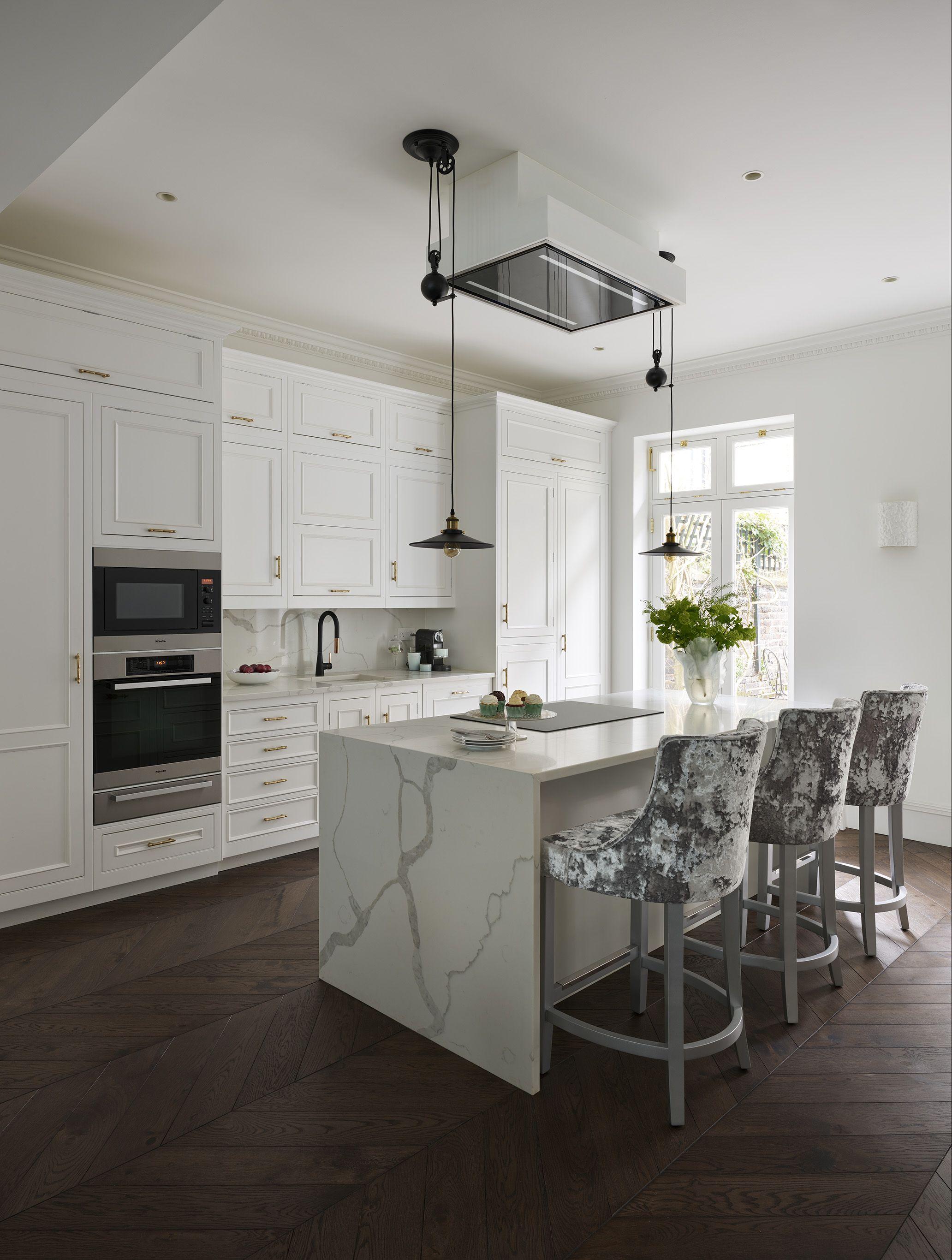 Kitchen Island Kitchen Design Ideas And Utilising Your Space For A Kitchen Island Modern White Kitchen Cabinets Bespoke Kitchen Design Kitchen Design