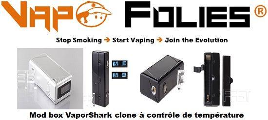 vaporshark dna clone avec contrôle de température 38 98 box