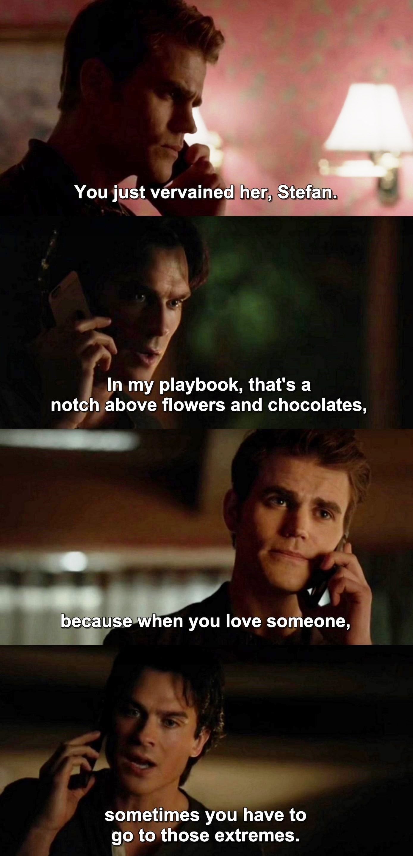 Quotes From Vampire Diaries The Vampire Diaries Tvd 7X21  Damon And Stefan  The Originals