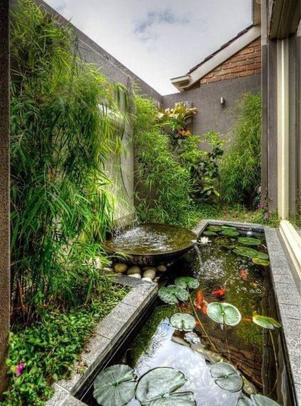 Fascinating Small Waterfall Garden Designs Ideas For Backyard 10 Japanesegarden Japanese Japanese Garden Landscape Japanese Garden Design Waterfalls Backyard