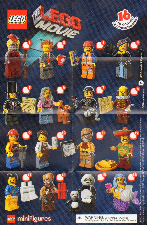 Lego Pelicula Sobres Minifiguras Me Faltan Las Figuras 1 3 4 6 8 11 13 Y 16 Lego Minifigures Mini Figures Lego Figurine