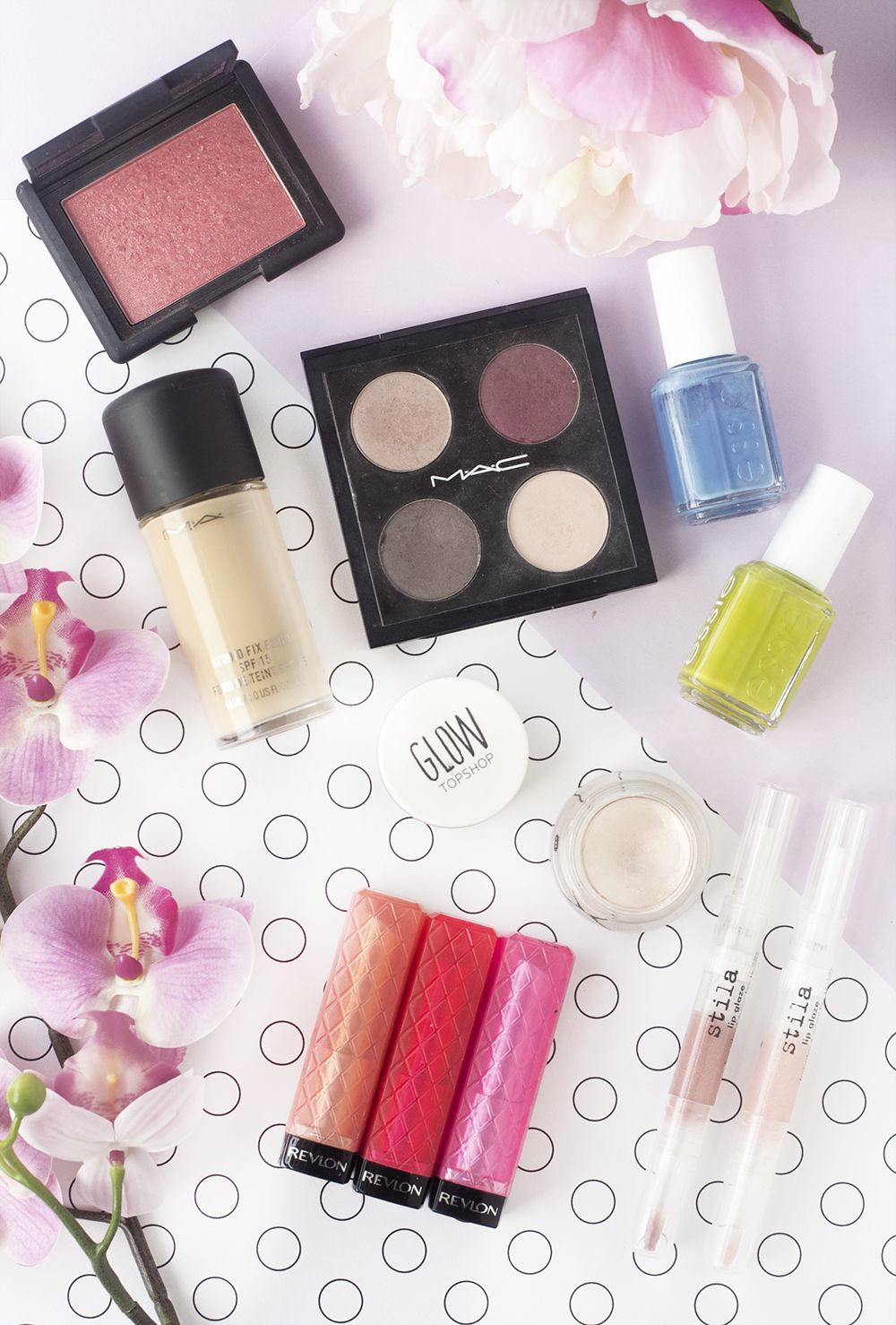 Shopping my beauty stash on my blog today, looking at some