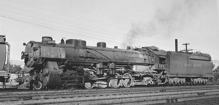 Richard Leonard S Random Steam Photo Collection Union Pacific 4 10 2 5095 Union Pacific Railroad Railroad History Railroad Photography